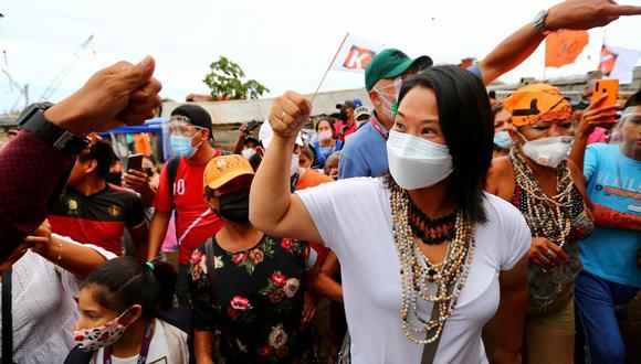 Fujimori Higuchi adelantó que ampliará su equipo de plan de gobierno de cara a la segunda vuelta. (Foto: Prensa Fuerza Popular)