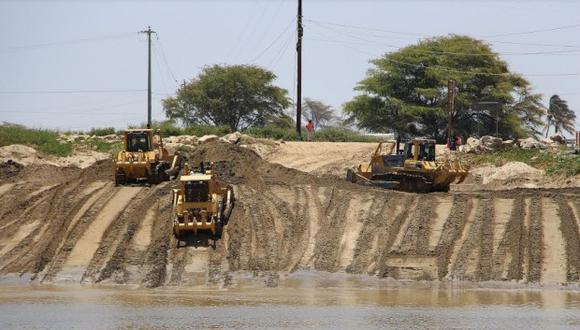 En el 2018, el presupuesto para la reducción de la vulnerabilidad y atención de emergencias por desastres fue de S/2.600 millones, de los cuales solo se ejecutó el 66%. En Piura se realizarán trabajos de descolmatación de ríos (Foto: archivo)