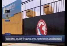 Callao: asaltan almacén de Indeci y se llevan víveres valorizados en más de S/1 millón