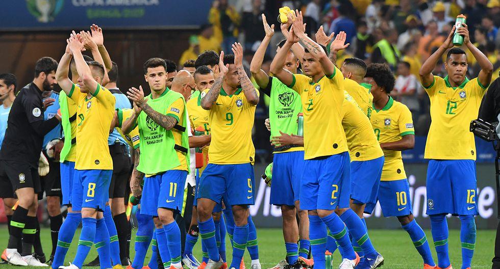 Brasil es líder sin haber perdido partido alguno. (Foto: AFP)