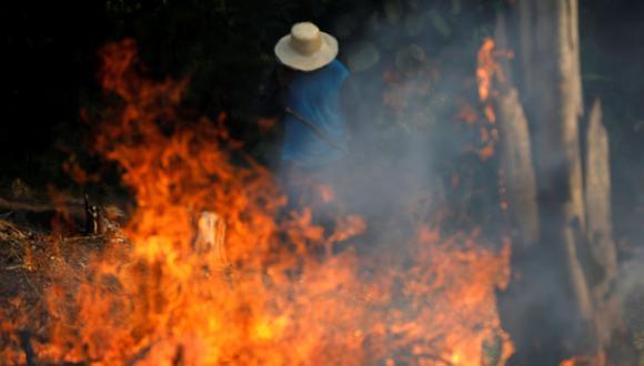 Este año Brasil lidera el ranking regional de focos de incendios, seguido por Venezuela con 26.453 y Bolivia, con 16.101. (Foto: Reuters)