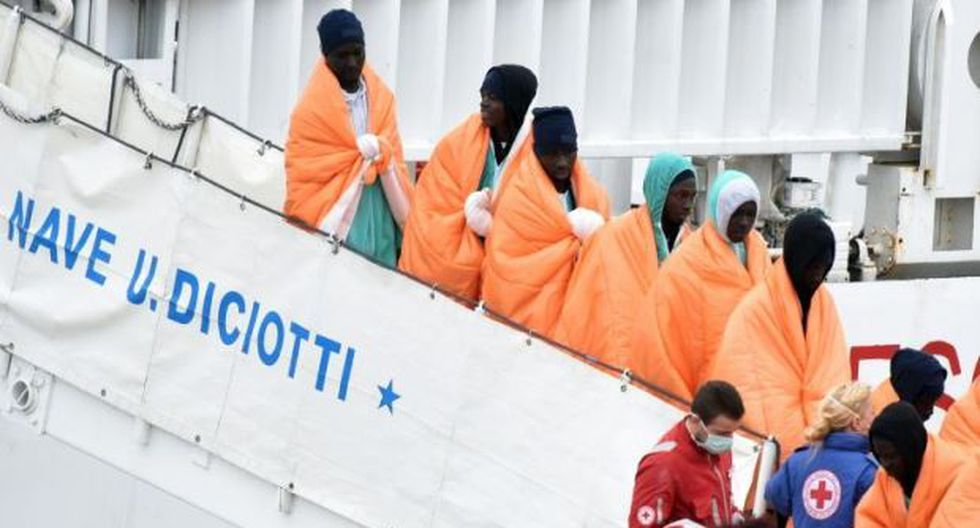 Inmigración en Italia. (Foto: AFP)