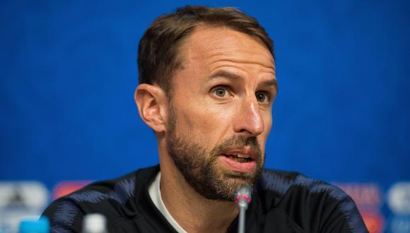 El seleccionador de Inglaterra Gareth Southgate ordenó a su grupo de jugadores que permanecieran despiertos hasta las 6 a.m. tras vencer a Colombia. (Foto: AFP)