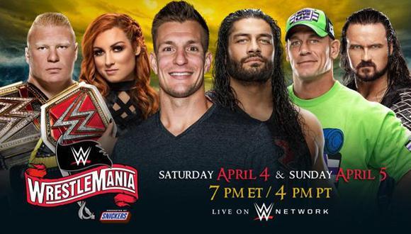 ¿WrestleMania no será transmitido en vivo? Todo lo que se sabe del magno evento de la WWE hasta el momento