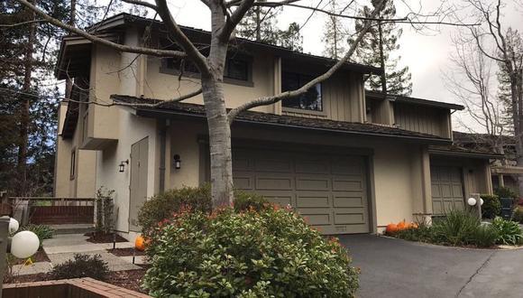 Vivienda donde Alejandro Toledo fue detenido el 11 de julio del 2019 en el 1370 Trinity Dr. Menlo Park, California. (Foto: Liliana Michelena)