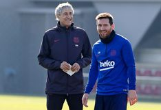 Se conocieron los secretos de la reunión íntima entre Messi y Setién: los cambios en las prácticas, la salida de Valverde y la Champions