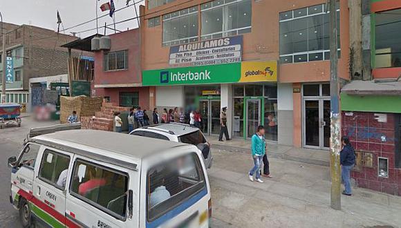 La misma banda estaría tras robos a bancos en San Luis y SJL