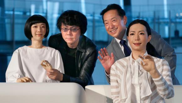 Los guías robots que sorprenden en museo de Tokio [VIDEO]
