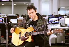 Claudio Narea, ex Los Prisioneros, en sesión acústica [VIDEO]