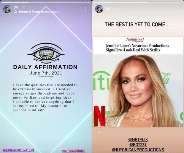 Jennifer Lopez y su motivadora frase mientras se especula que busca escuela  para sus hijos en Los Ángeles donde vive Ben Affleck | Bennifer | Netflix |  Celebs | Estados Unidos | nnda | nnni | GENTE | MAG.