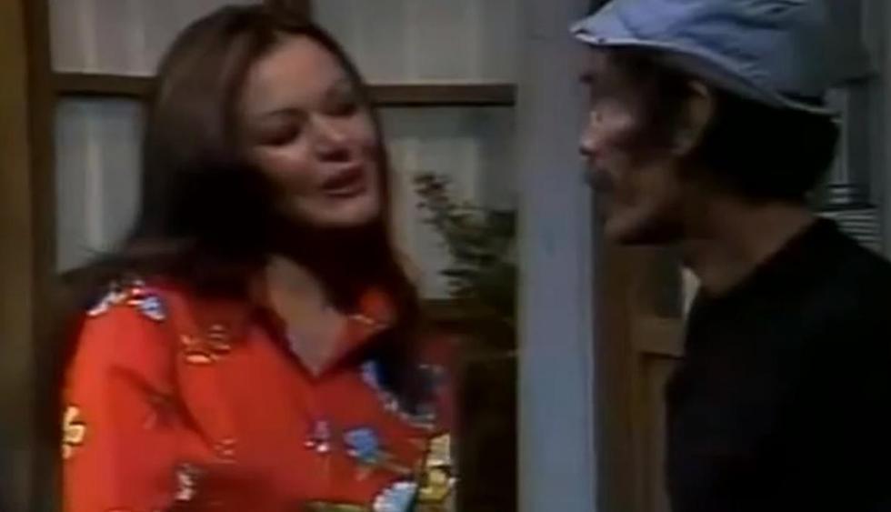 """La actriz Olivia García en una escena de """"El chavo del 8"""". Gloria vivía en el segundo piso de la vecindad de """"El Chavo del Ocho"""" con su sobrina, Patty. Foto: Televisa."""