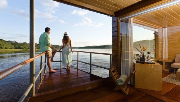 Delfin Amazon Cruises es una de las empresas de turismo afectadas al estar un año sin poder operar.
