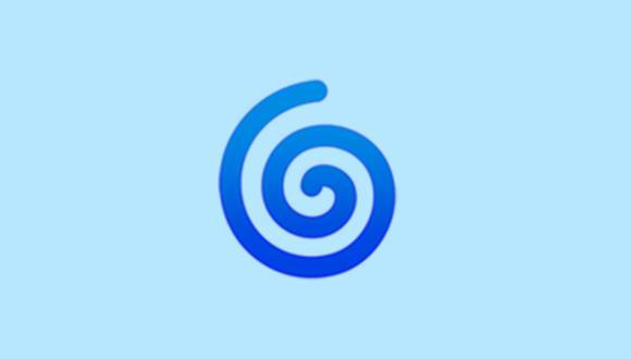 ¿Te habías percatado de este extraño emoji en WhatsApp? Conoce qué significa el espiral. (Foto: Emojipedia)