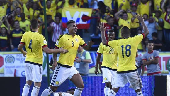 Cardona en un partido de la selección colombiana. (Foto: AFP)