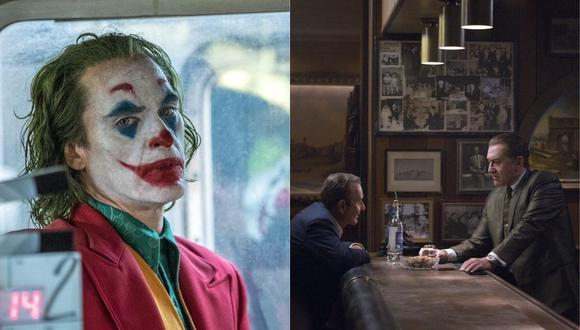 """""""The Irishman"""" y """"Joker"""", entre las nominadas al Globo de Oro a mejor drama (Foto: Instagram)"""
