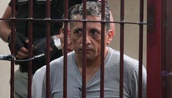 El etnocacerista, Antauro Humala, acudió al Tribunal Constitucional para ser trasladado a un hospital ante el riesgo por el coronavirus.. (GEC)