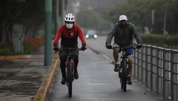 La pandemia ha impulsado el uso de bicicletas. (Foto: Anthony Niño de Guzmán | GEC)