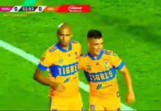 Tigres vs. Querétaro: Así fue el gol de Luis Rodríguez para el 1-0 de los 'Felinos' | VIDEO