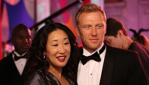 En Grey´s Anatomy los actores Sandra Oh y Kevin McKidd dieron vida a Cristina Yang  y Owen Hunt (Foto: ABC / Getty images)