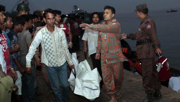 Bangladesh: nuevo naufragio de ferry deja al menos 41 muertos