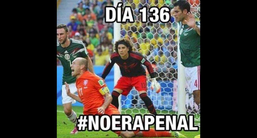 Twitter: mexicanos celebran con memes su triunfo sobre Holanda - 2