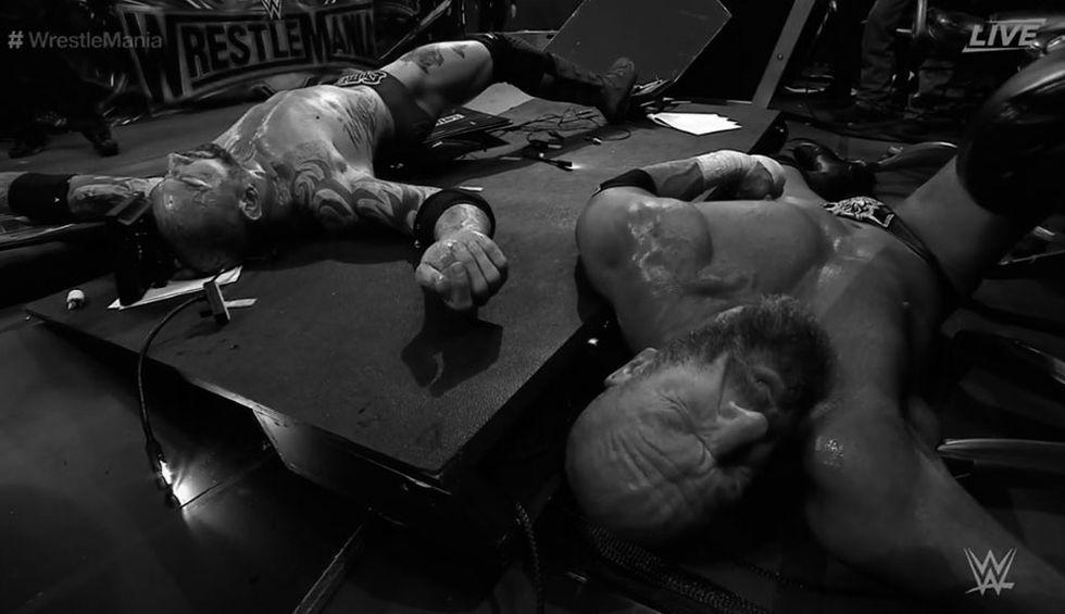 Batista tuvo su última pelea en WWE contra Triple H en WrestleMania 35.