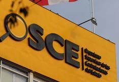 OSCE: se han adjudicado compras públicas por S/ 822 millones en lo que va del año