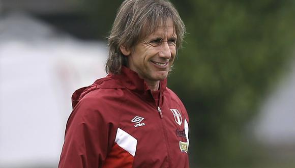 Ricardo Gareca, DT de la selección peruana (Foto: AP)