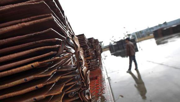El precio del cobre ha bajado 18% en lo que va del año. (Foto: Reuters)