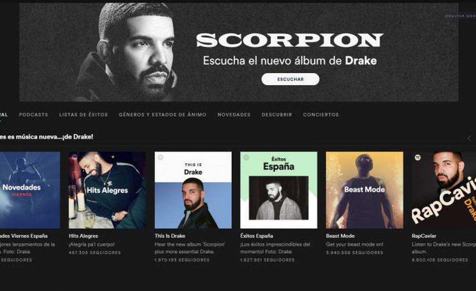 Captura de Spotify