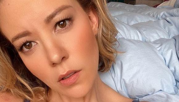 La actriz estuvo varios días internada en el hospital. (Foto: Fernanda Castillo / Instagram)