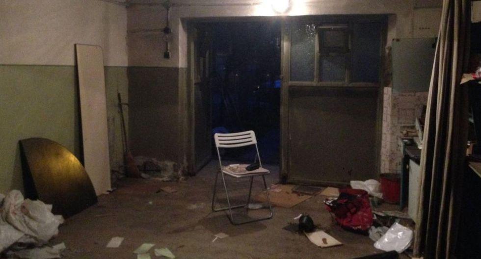 Así lucía el garaje elegido por el estudio arhiDOT antes de convertirlo en un departamento con mucho estilo. (Foto: Arthur Tintu / Facebook ArhiDOT)