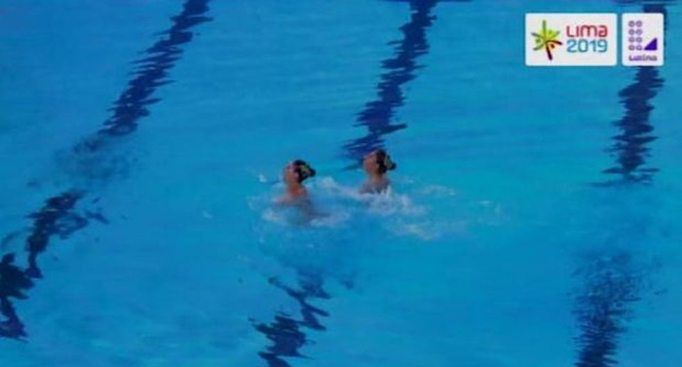 Nadadoras mexicanas utilizaron una canción de La Casa de Papel en su rutina. (Captura: Latina Televisión)