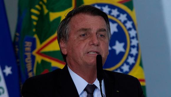 El presidente de Brasil, Jair Bolsonaro, fue internado la mañana del martes en el Hospital de las Fuerzas Armadas debido a un cuadro de hipo que sufre desde hace 10 días. (Foto: Joédson Alves / EFE)