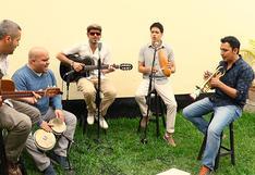"""Ray Callao en una sesión acústica para """"El Comercio"""""""