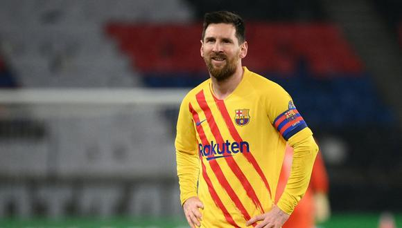 Barcelona quedó fuera de la Champions League tras empatar 1-1 ante PSG. Lionel Messi marcó un golazo, pero falló un penal clave que pudo ser el 2-1 antes del descanso. (Foto: EFE)