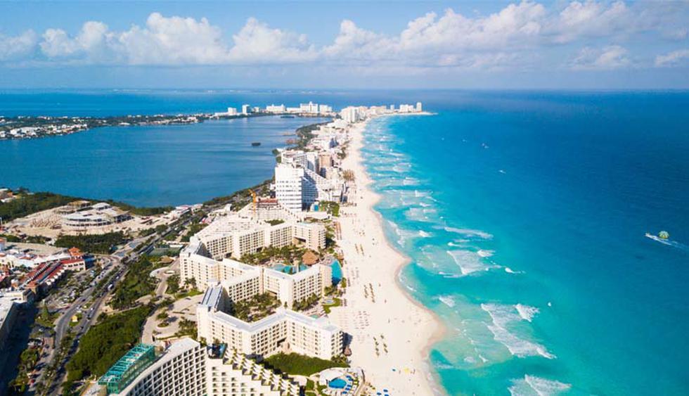 Cancún, México. Se estima que este año llegaron 6.269.000 personas a la ciudad ubicada en el estado de Quintana Roo. (Foto: Shutterstock)