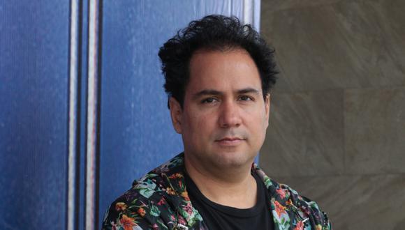 Christian Bendayán,artista plástico. (Foto: Juan Ponce / El Comercio).