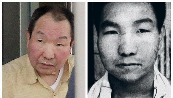 Hace medio siglo, Iwao, de 84 años, fue declarado culpable de robar y asesinar a cuatro personas. (Foto: AFP/Archivo)