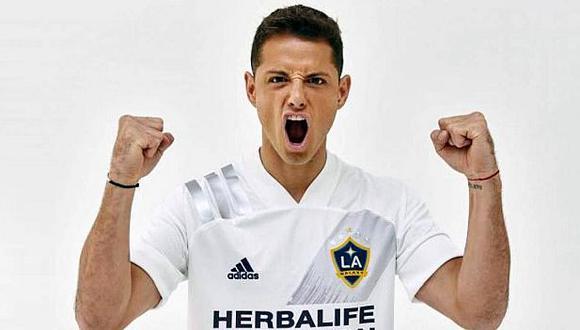 'Chicharito' Hernández llegó a Los Angeles Galaxy, procedente del Sevilla. (Foto: LA Galaxy)
