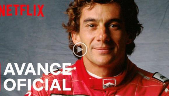 Netflix anuncia el primer drama de ficción sobre Ayrton Senna. (Foto: captura de YouTube)