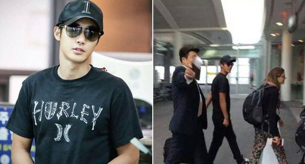 Kim Hyun Joong, estrella del K-Pop, ya se encuentra en Lima