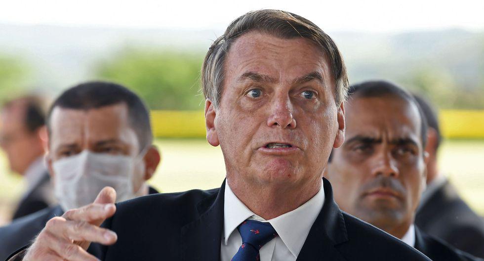El presidente de Brasil, Jair Bolsonaro, está siendo cuestionado por el manejo que le da su gobierno a la pandemia de coronavirus. (AFP / EVARISTO SA).