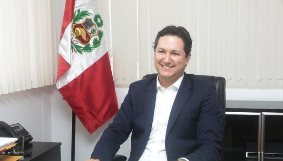 Daniel Salaverry, expresidente del Congreso, se afilió a Somos Perú hace un mes. (Foto: Diana Chávez / Grupo El Comercio)
