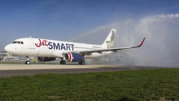 JetSmart es una aerolínea 'low cost' que opera en el mercado peruano. (Foto: GEC)
