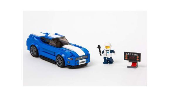 NAIAS 2016: Ford y Lego lanzan el Mustang [VIDEO]