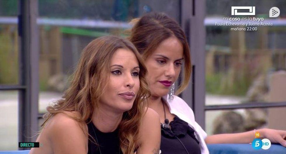 """Mónica le dice a Miriam: """"Deberías estar besando el suelo por donde piso"""". (Foto: Twitter)"""