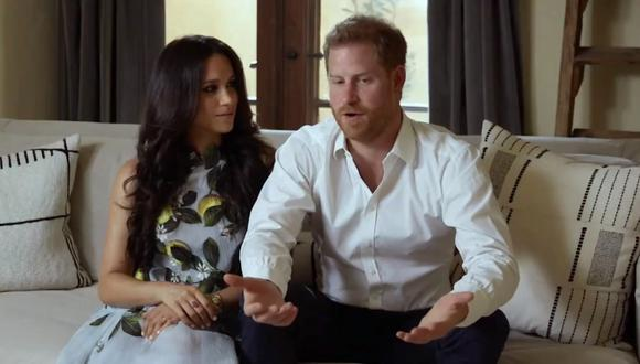 Meghan de Sussex y Enrique de Sussex reaparecieron públicamente desde que anunciaron la llegada de su segundo hijo. (Foto: Spotify)