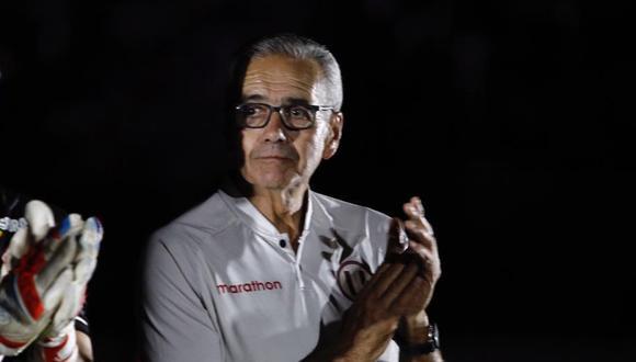 Gregorio Pérez se despide y le desea la mejor a Universitario de Deportes. (Foto: GEC)