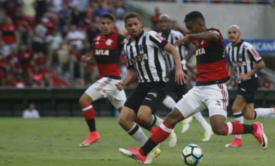 Flamengo empató 1-1 ante Atl. Mineiro en inicio de Brasileirao